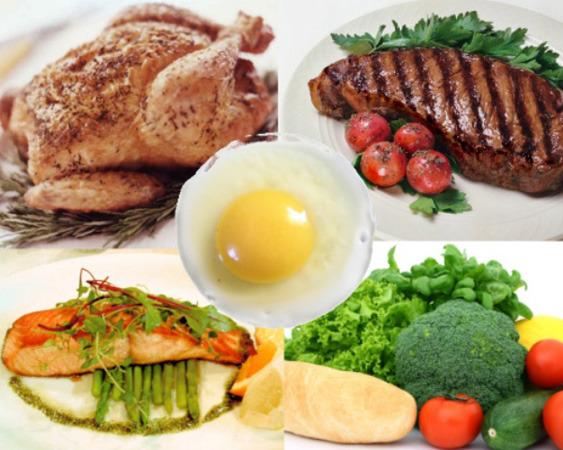 Белково-растительная диета - меню, отзывы