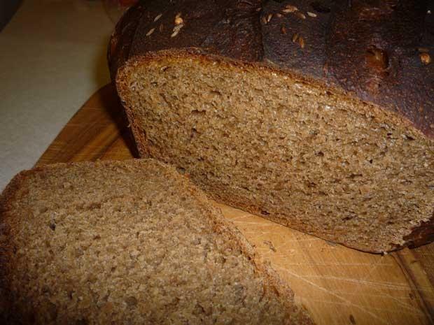 Черного хлеба в домашних условиях