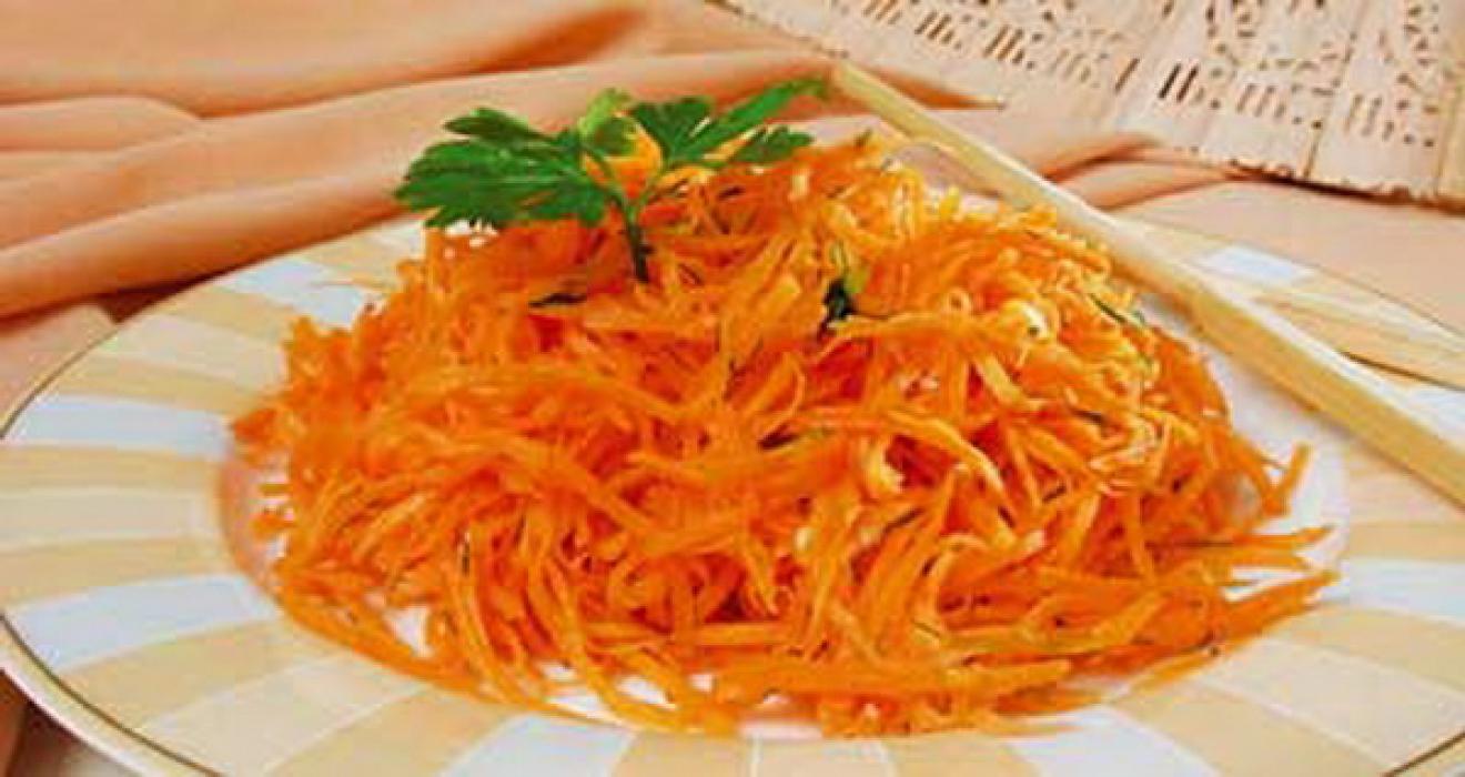 белковая диета рецепт морковный салат