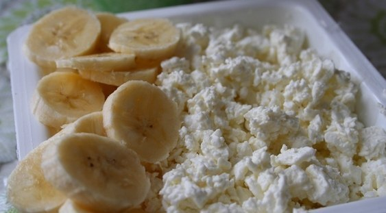 Бананы и творог диета