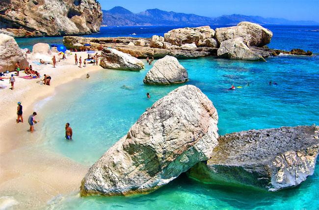 Сардиния места