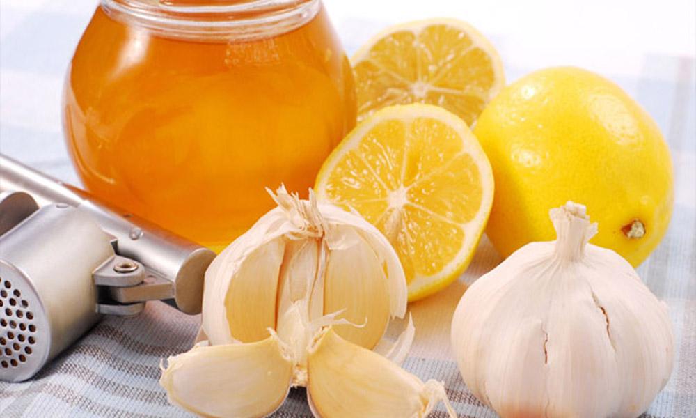 Льняное масло, лимон, чеснок, мед для красоты и молодости + иммунитет.